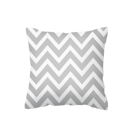 Grey Chevron Scatter Cushion