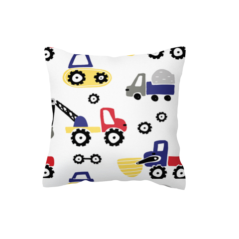 Diggers and Dozers Primary Scatter Cushion