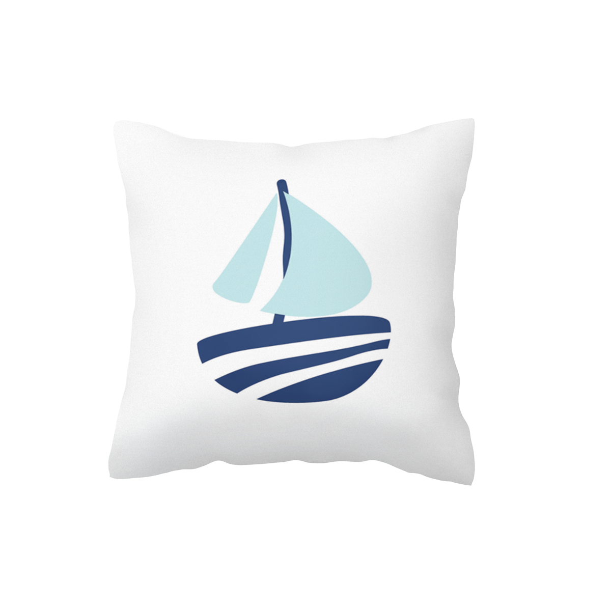 Sail Boat Scatter Cushion