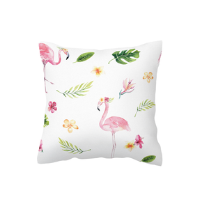Tropical Flamingo Scatter Cushion