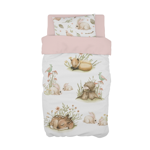 Forest Babies Cot Duvet Set