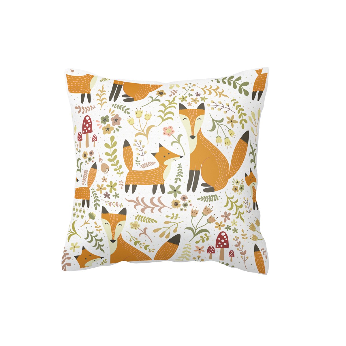 Foxy Forest Scatter Cushion Cover