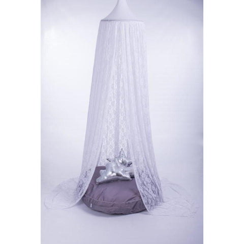 White Lace Hanging Tent