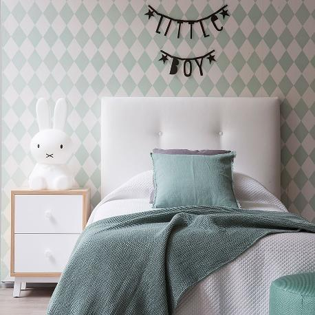 Upholstered Buttoned Headboard
