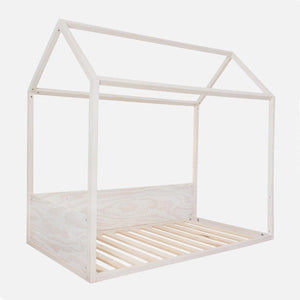 Single Pine House Bed