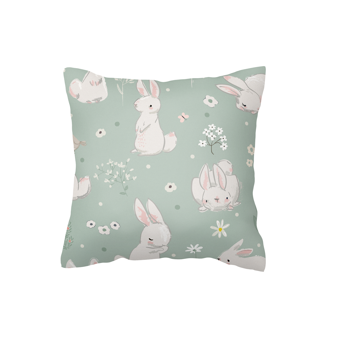 Meadow Hares Scatter Cushion