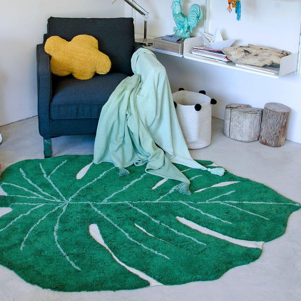Monstera Leaf Rug