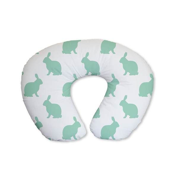 Mint Hop Feeding Cushion