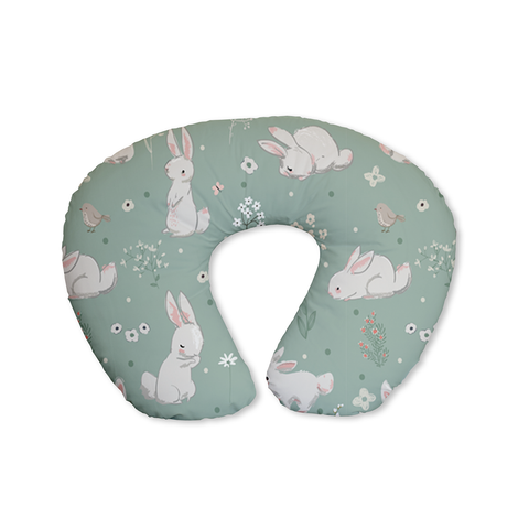 Meadow Hares Nursing Pillow