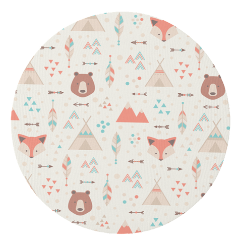 Fox and Bear Play Mat