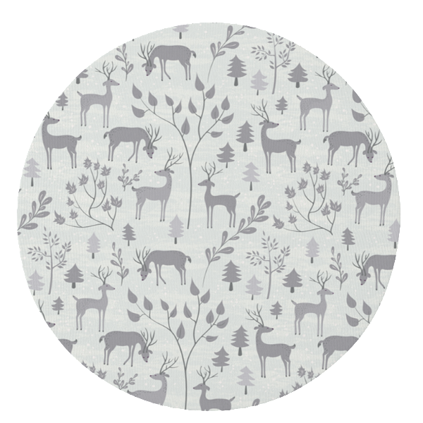 Grey Snowy Woodland Play Mat Studio Collection Online