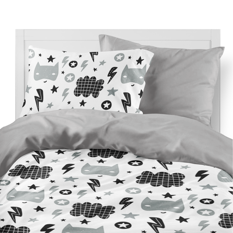 Super hero duvet set for boys