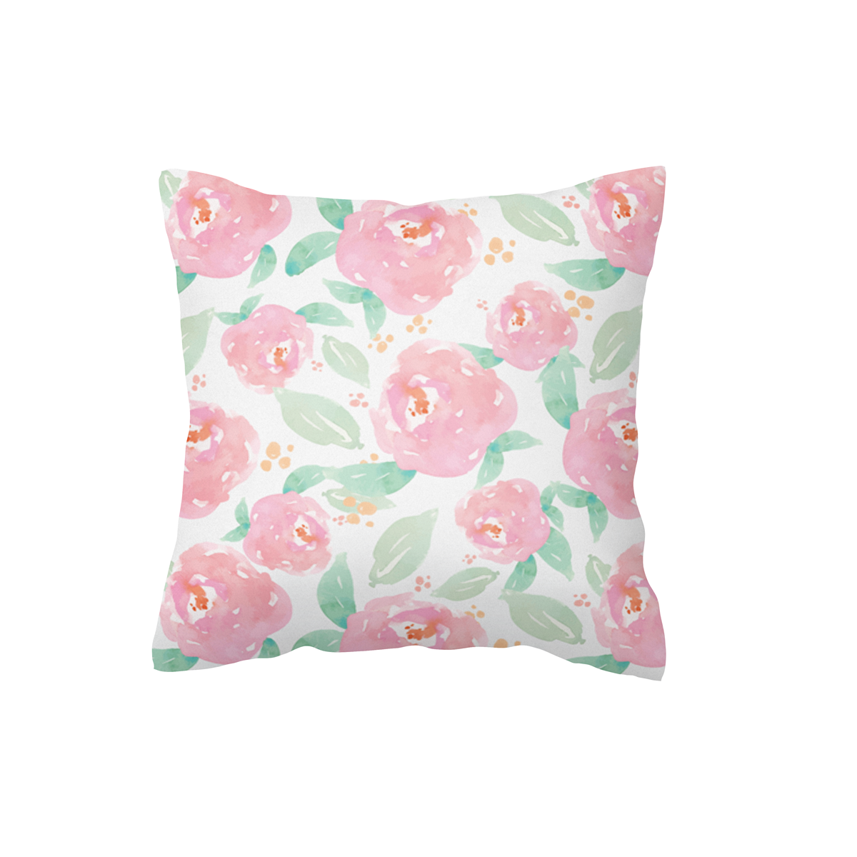 Watercolour Roses Scatter Cushion Cover