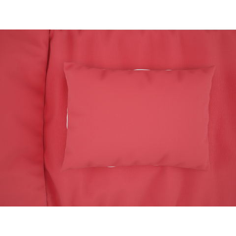 Red Sheets and Pillow Cases