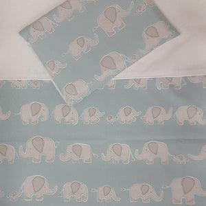 Sweet Ellie Blue Cot Set