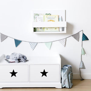 Stars Bench Toy Box