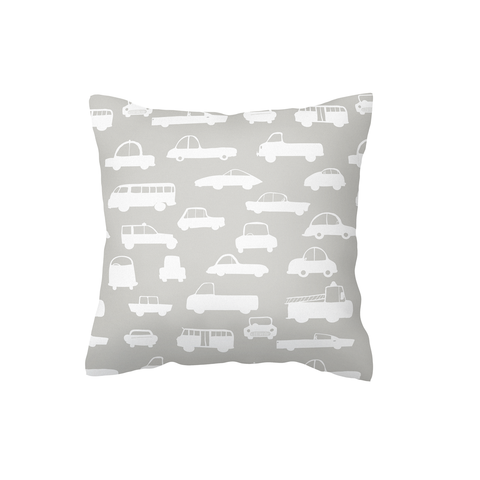 Grey Traffic Scatter Cushion