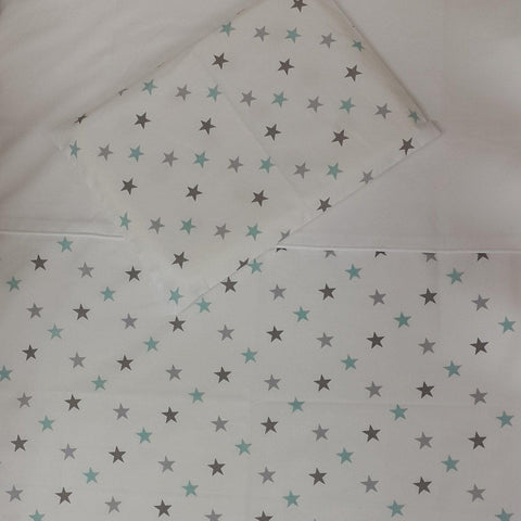 Twinkle Duck Egg Cot Set