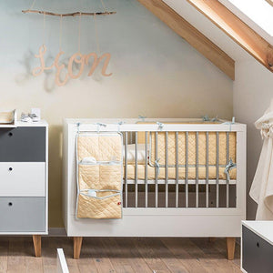 Contemporary Convertible Cot