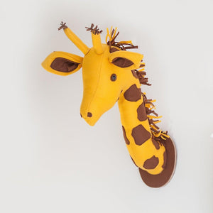 Giraffe Head Wall Mount