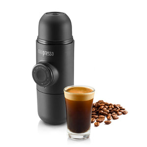 Minipresso GR Coffee Maker Wacaco - spectacled bear coffee