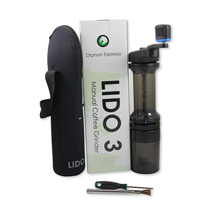 Lido 3 Manual Hand Grinder Hand Grinder Lido - spectacled bear coffee