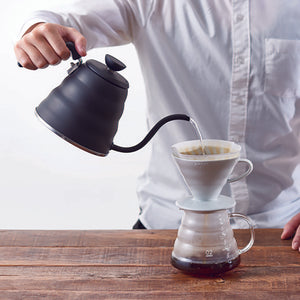 Hario V60 Buono Kettle - Matte Black Kettle Hario - spectacled bear coffee