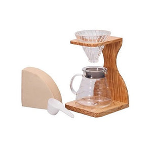 Hario V60 Pour Over Set - OV Pour Over Hario - spectacled bear coffee