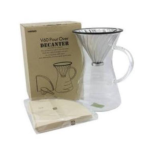 Hario V60 Pour Over Decanter Pour Over Hario - spectacled bear coffee
