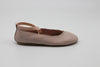 Leather Ballet Pumps | Pink