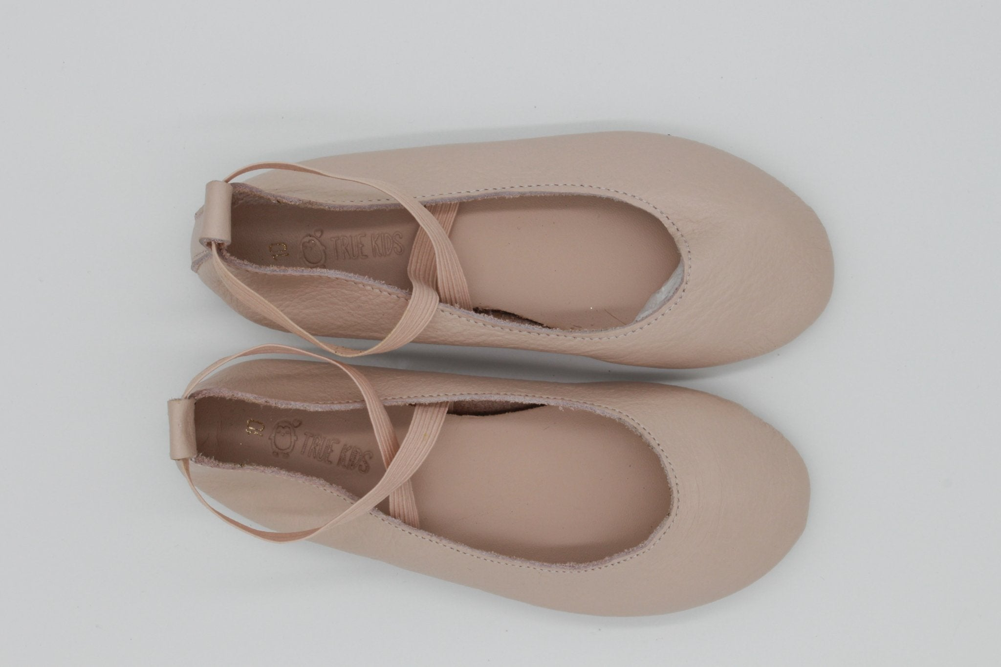 Leather Ballet Pumps | Pink - Turning Point