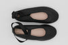 Leather Ballet Pumps | Black