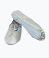 Silver Glitter Kids Ballet Shoes (BGS)