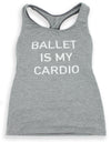 Dance Workout Top Grey