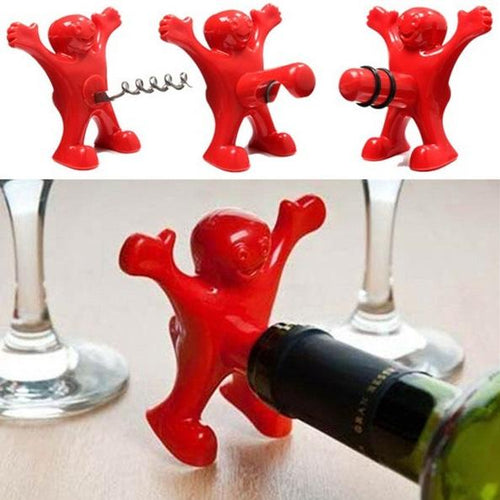 Happy Man Drinks Tools - Set of 3