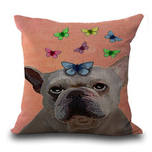 Perfect Pug + Bulldog Cushion Cover - 5 designs