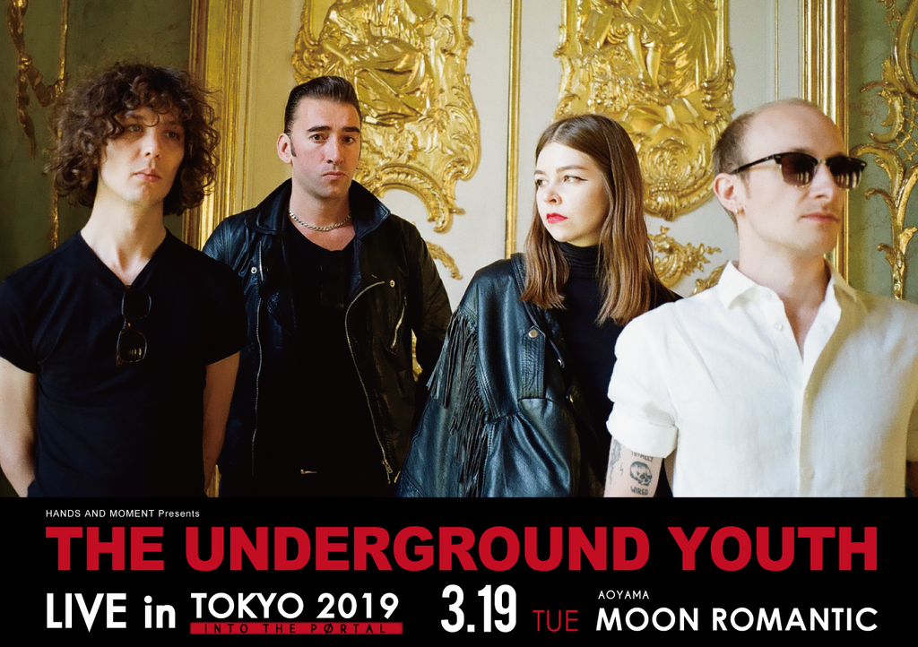 The Underground Youth LIVE in TOKYO 2019