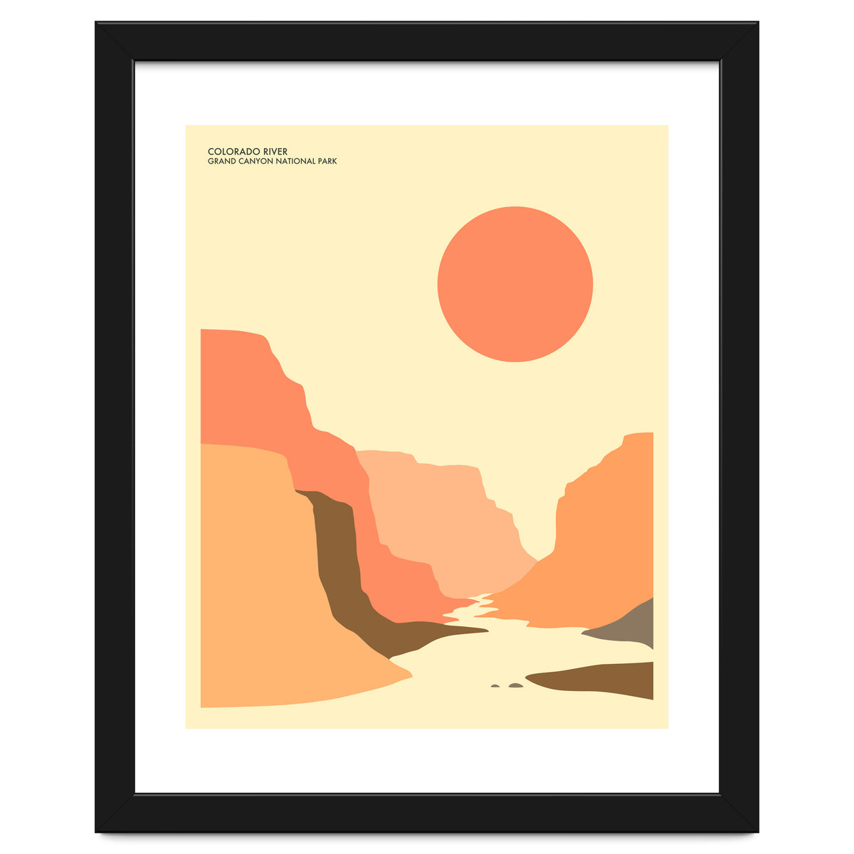 Grand Canyon National Park Art Print by Jazzberry Blue | arthaus