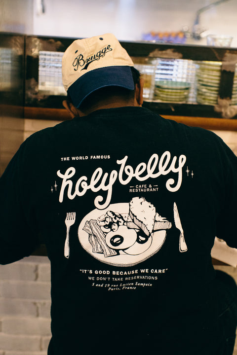 Holybelly Vintage Tee / Black