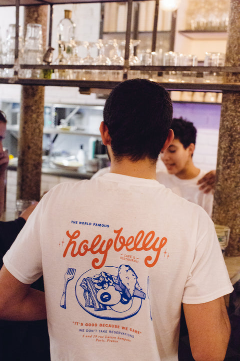 Holybelly Vintage Tee / White
