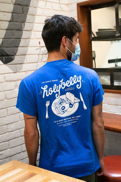 Holybelly Vintage Tee / Blue