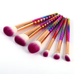 Unicorn Make Up Brush Set - Leisure Merchants