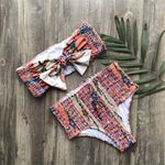 The Chika High Waisted Bikini - Leisure Merchants