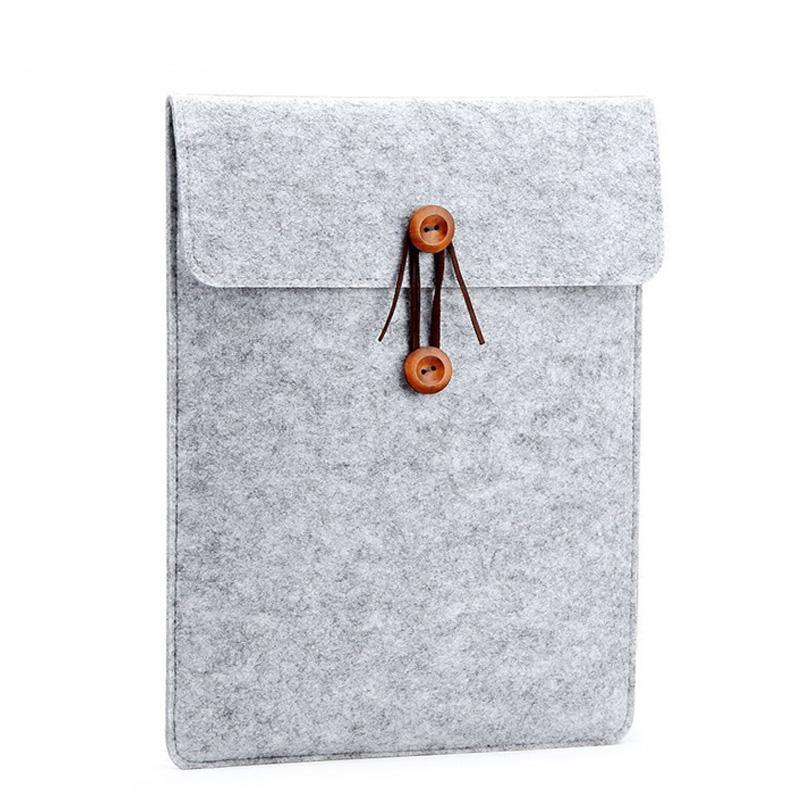 Wool Felt Macbook Laptop Sleeve Case - Leisure Merchants