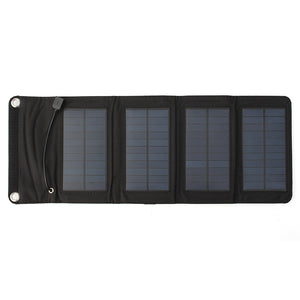 Camoflague Folding Solar Panel Phone Charger 7w - Leisure Merchants
