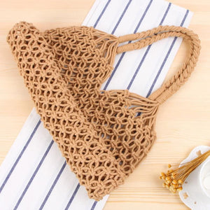 Bohemian Handwoven Beach Bag - Leisure Merchants