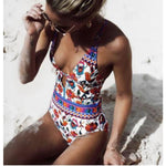 Floral One Piece Swimsuit - Leisure Merchants