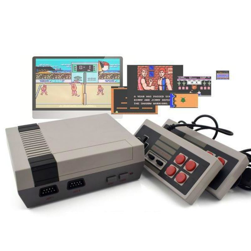 Retro Gaming Console NES 600 Games - Leisure Merchants