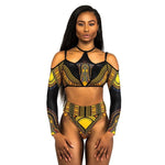 Saharan Sunset Retro Bikini 2 Piece - Leisure Merchants