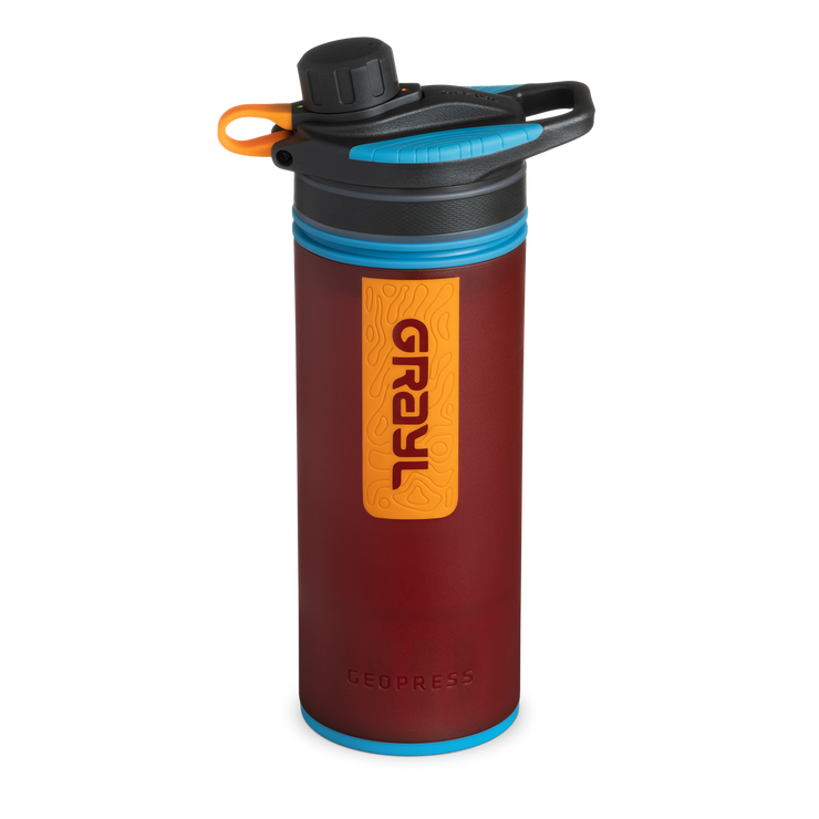 GEOPRESS™ Water Purifier – Wanderer Red
